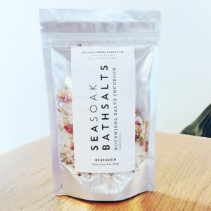 SEASOAK BATHSALTS [Sales de Baño & Flores]